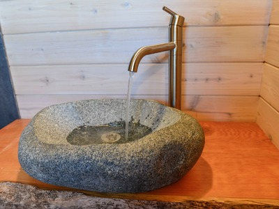 How To Install a Carved Stone Sink