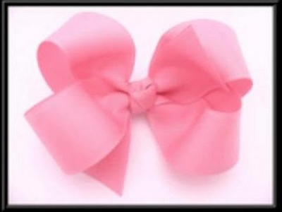 How To Make A Boutique Hair Bow (Updated Video.No Sewing)