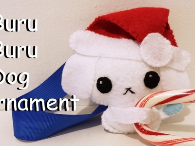 How to Make a Buru Buru Dog Ornament plushie tutorial