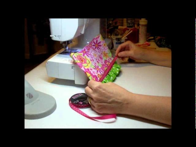 How to Make a Doll Skirt with Ruffle Pt. 2