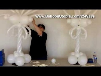 How to Make a Fancy Centerpiece From Balloons