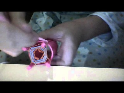 How To Make  A Hexafish Bracelet using a Crazloom 4 pin loom