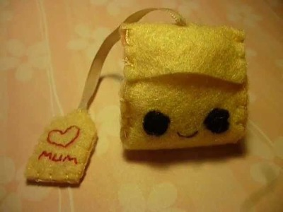 How to Make a Kawaii Teabag Plushie fom Felt