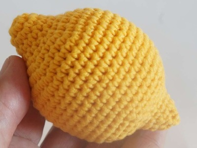 How To Make Crocheted Children's Toy Lemon - DIY Crafts Tutorial - Guidecentral