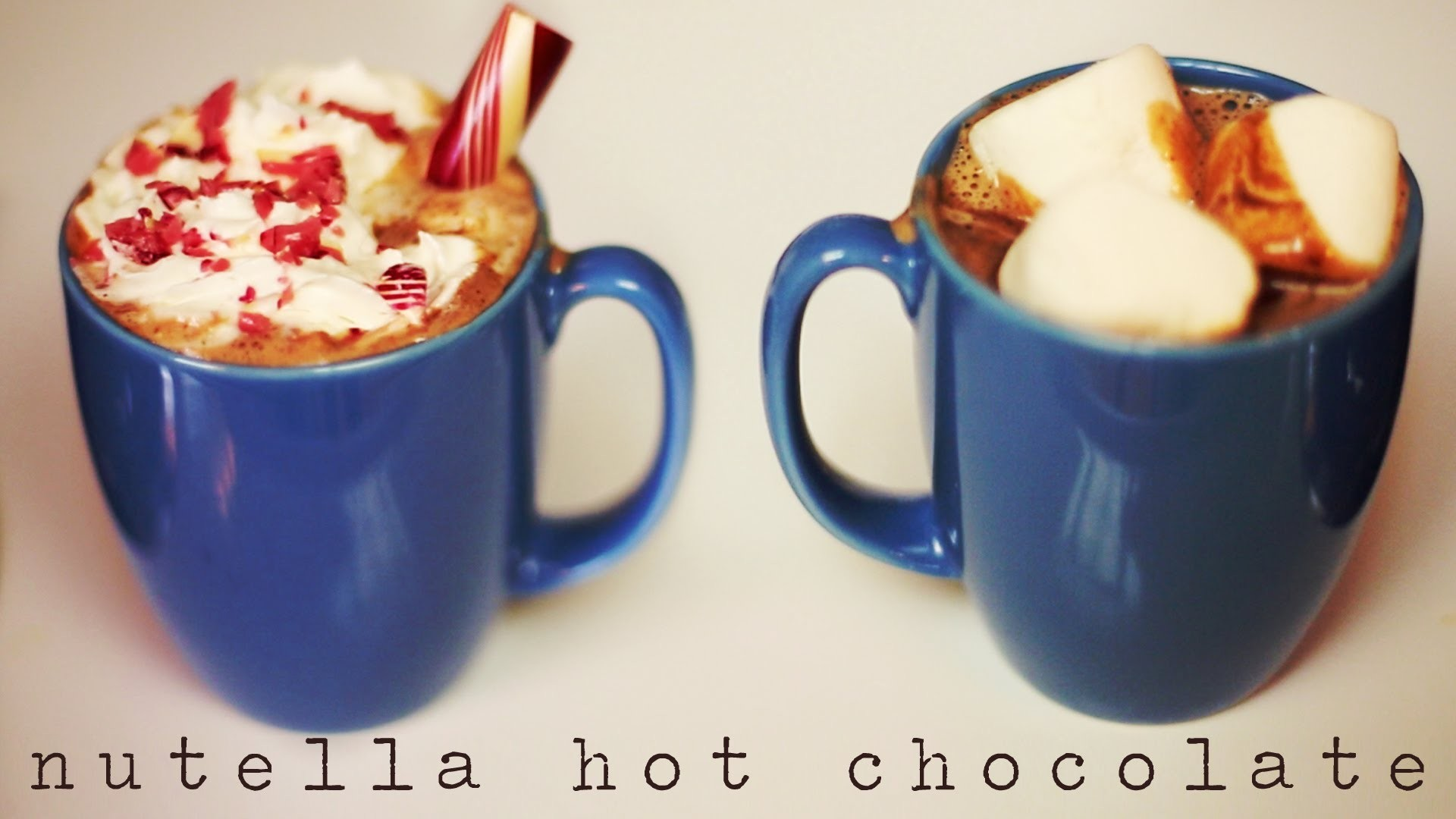 HOW TO: NUTELLA HOT CHOCOLATE