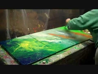 How to paint Abstracts with Skye Taylor