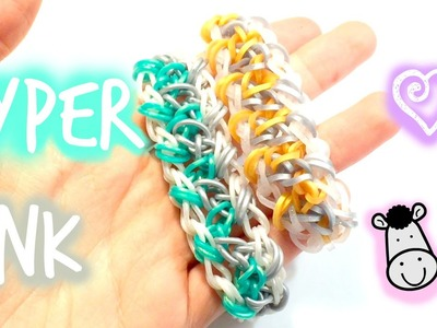 Hyper Link Bracelet | Rainbow Loom Tutorial
