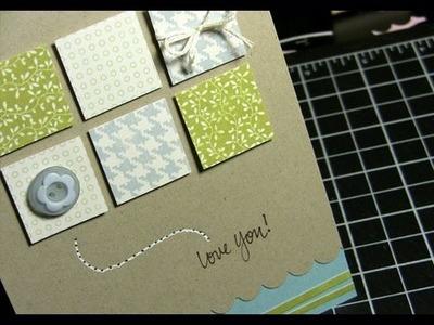 Love You! - Make a Card Monday #55