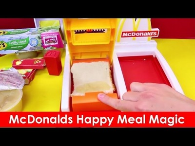 McDonalds Happy Meal Magic Toy Dessert Pie Maker DIY McDonalds Food Home Recipes children's entertai