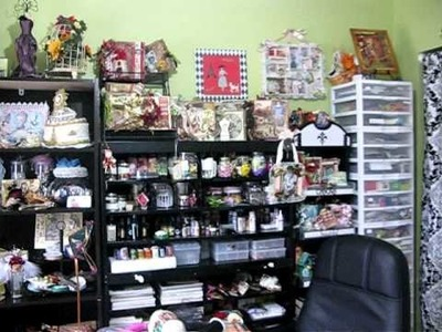 My Scrapbook Room Nov 2010