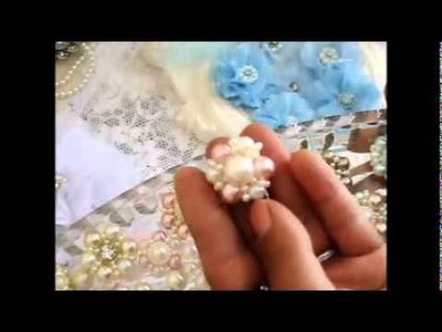 OMG 2Die4 Gorgeous Shabby Chic Pearl Centres!!