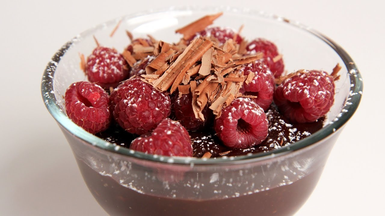 Quick Chocolate Pudding Recipe - by Laura Vitale - Laura in the Kitchen Episode 291
