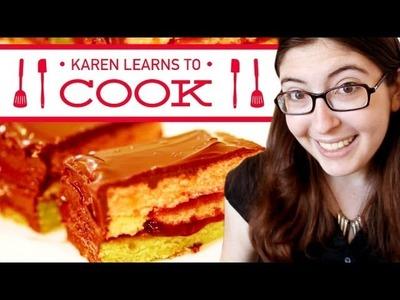 RAINBOW COOKIES - Karen Learns to Cook - Episode 2