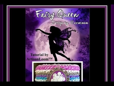 Rainbow Loom Band Fairy Queen Bracelet Tutorial.How To