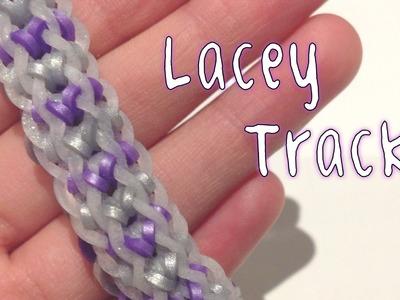 Rainbow Loom - Lacey Track - Original Design - Rbl Tutorial