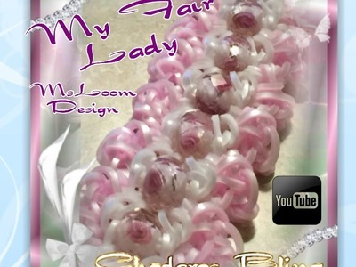 Rainbow Loom My Fair Lady Bracelet How to Tutorial