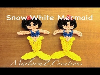 Rainbow Loom Snow White Mermaid