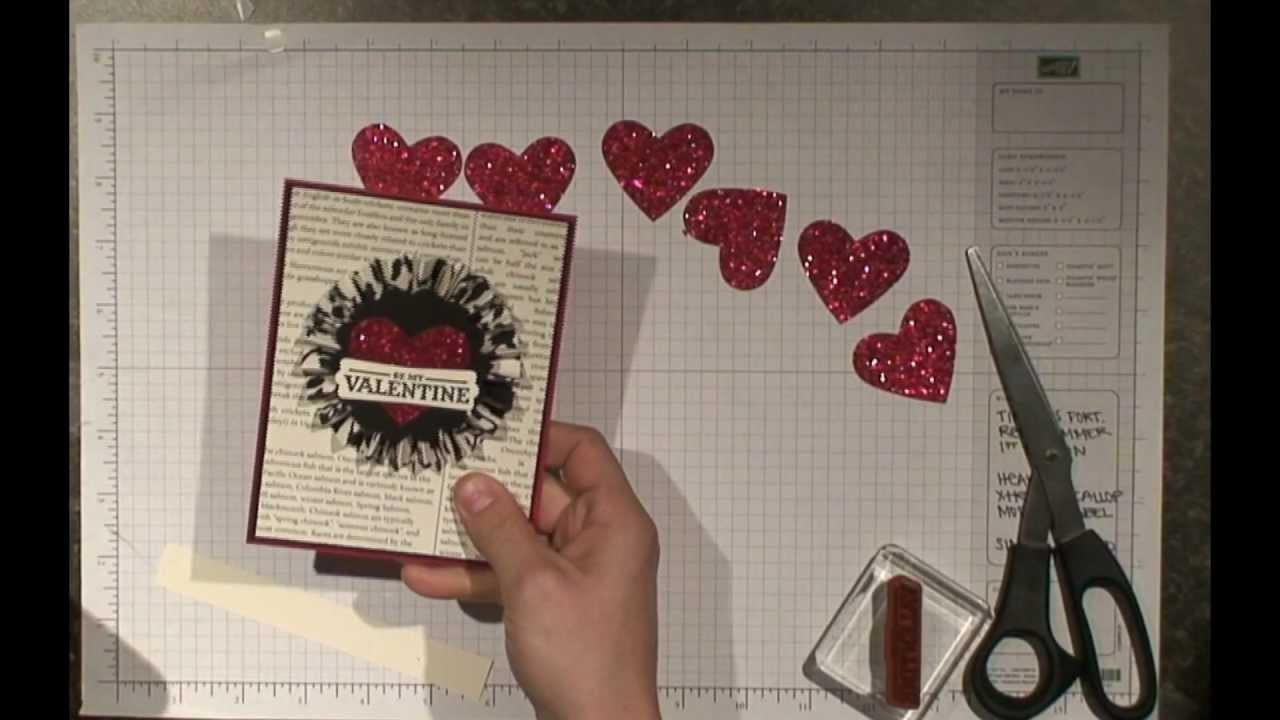 Stampin' Up! Be My Valentine Card