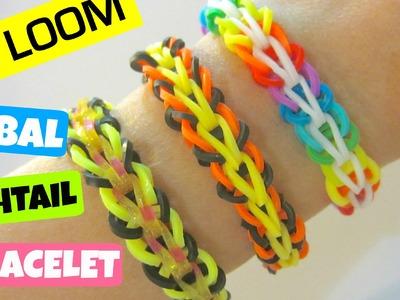 Tribal Fishtail Rainbow Loom Bracelet without Loom. on 2 Pencils