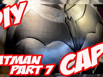 Batman Arkham Knight Armor How to DiY Costume Cosplay Part 7 the Cape