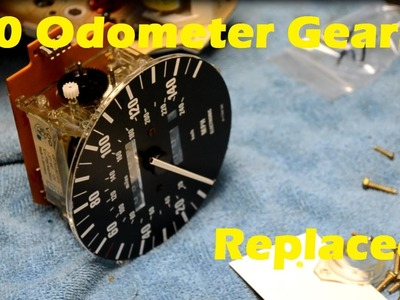 BMW E30 Odometer Gear Replacement How-To DIY