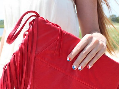 Create a Chic Fringe Leather Clutch - DIY Style - Guidecentral