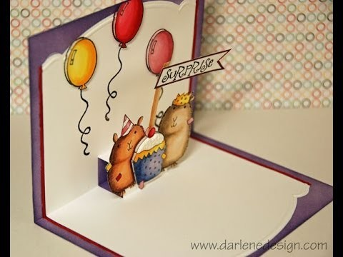 Critter Pop-Up Card