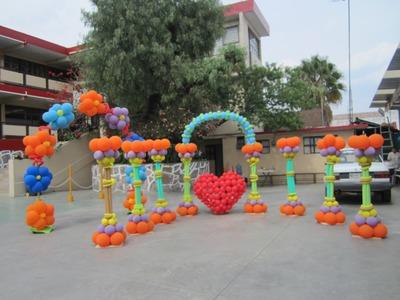Curso de decoraciones con globos - Decoraciones con globos