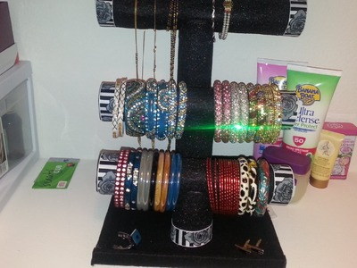 DIY - Bracelet. Bangles. Necklace Holder Under $5