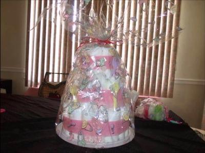 DIY- DIAPER CAKE AND DIAPER BABIES TUTORIAL (SUPER EASY)