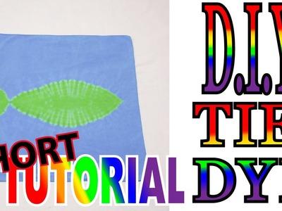 DIY Fish Tie Dye [Short Tutorial]
