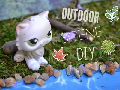 DIY: LPS Outdoor Scene (Speed-Craft)