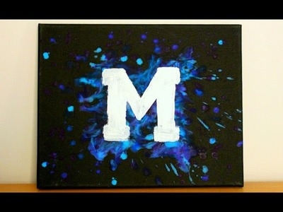 DIY Melted Crayon Painting