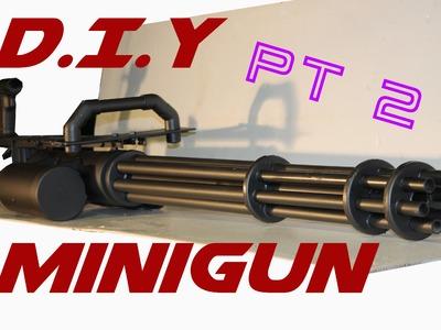 DIY Minigun tutorial. Part 2 - The main body