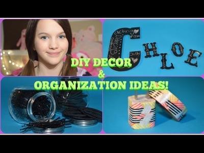 DIY ROOM DECOR & ORGANIZING IDEAS | CHLOE EAST