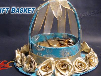 DIY  Wedding Gift Basket  | How to make | JK Wedding Craft 013