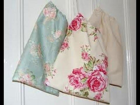 Easy DIY Drawstring Bags