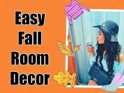 EASY FALL DIY ROOM DECOR 2015 - PINTEREST INSPIRED | Lexi Noel TMQ