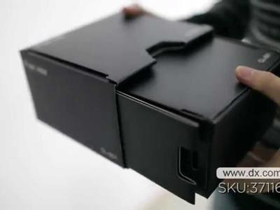 Free View CL-001 DIY Portable Cardboard Projector for Smartphones --DX.COM