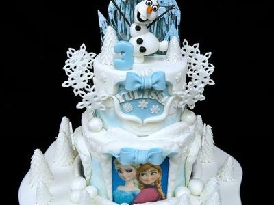Frozen Birthday Cake