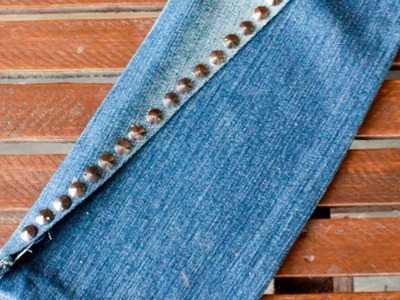 How To Assemble a Cool Denim No - DIY Sew Clutch Tutorial - Style