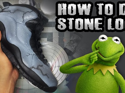 HOW TO DO STONE EFFECT!! DIY