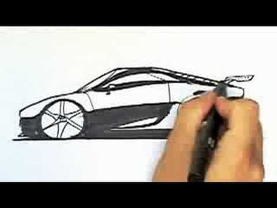 How to Draw Cars Part 1: Sketching