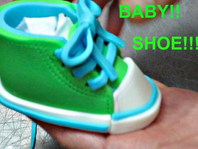 How to Make a Baby Shoe Topper