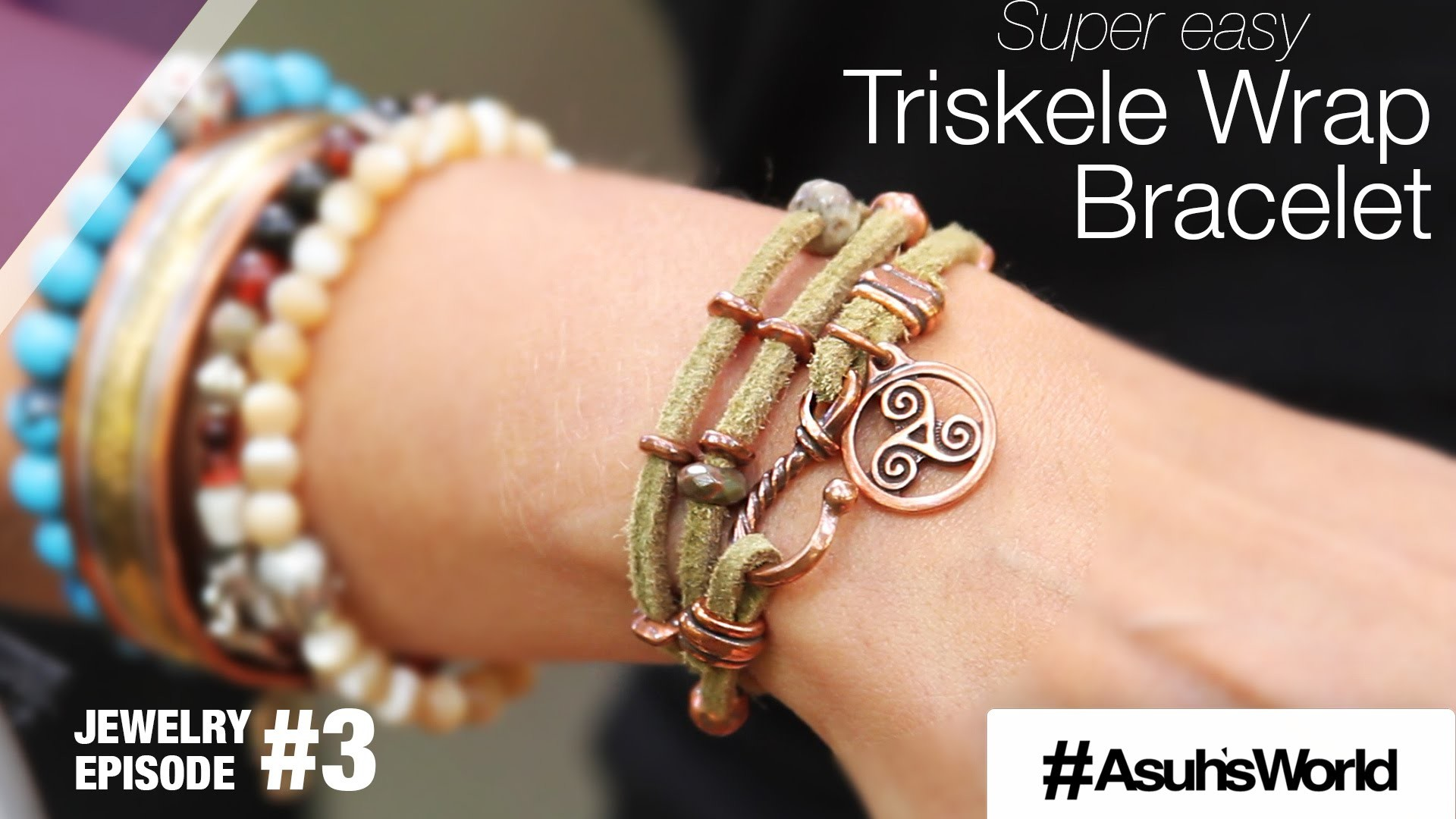 How to make a cool Bracelet out of the Tierra Cast Triskele Wrap Kit ?