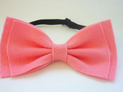 How To Make A Glamourous Tie A Bow Of Felt - DIY Style Tutorial - Guidecentral