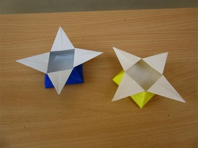 How to Make a Paper Star Box - Easy Tutorials