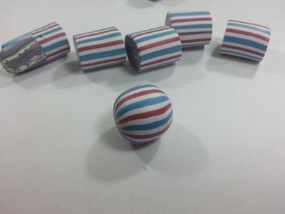How to make a Round Bead - PolymerClay Tutorial - ArtByYonat
