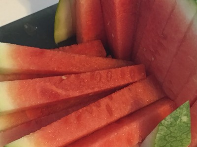 How To Quickly And Easily Cut Fun Watermelon Sticks - DIY Food & Drinks Tutorial - Guidecentral