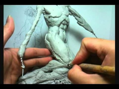 How to Sculpt Wolverine : Part 2 - Roughing out Forms
